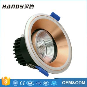 Factory Suppliers Recessed Round Led Lights Home Led Lights Downlight