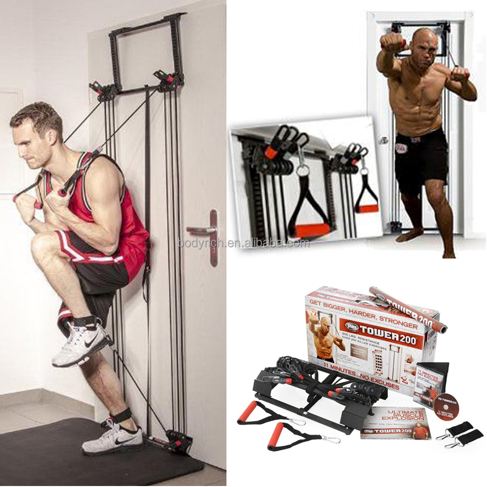 Door Gym Equipment Tower 200 Elastic Training Resistance Bands   Buy Door  Gym Equipment,Tower 200 Bands,Elastic Training Bands Product On Alibaba.com
