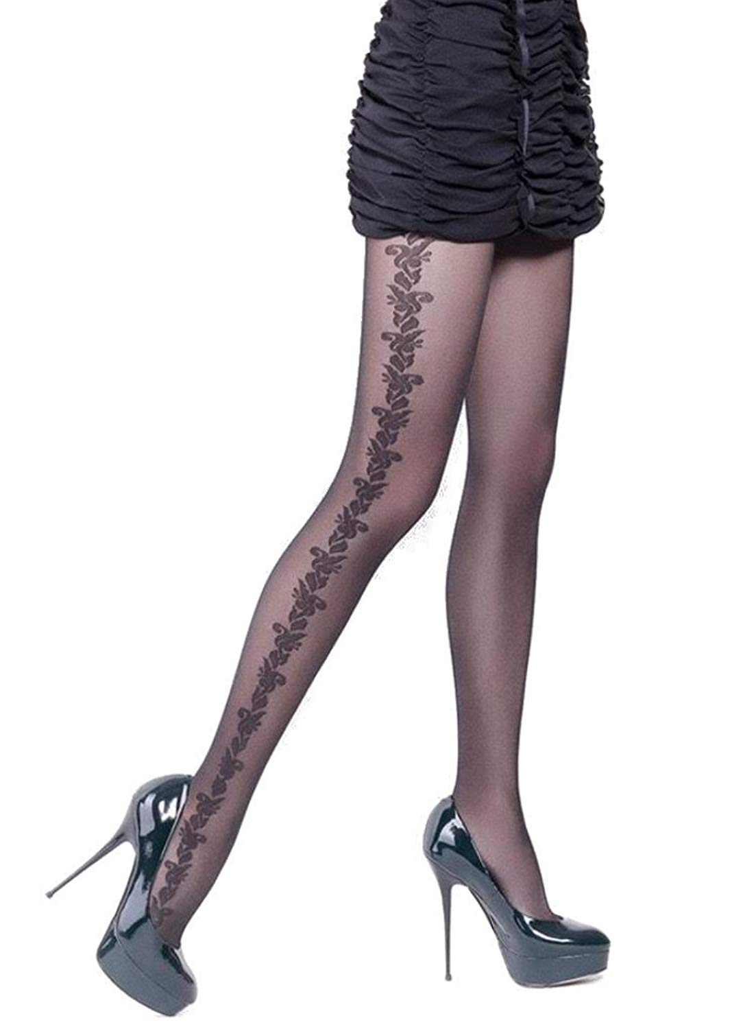 eb9b859b145 Buy Used Patterned Quality Tights Hosiery Good Worn Condition in ...