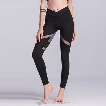 1d66139abc220 Polyamide Elastane Yoga Sweetheart Workout Fitness Leggings For Women