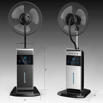 16 Quot Stand Oscillating Pedestal Fan With Water Mist Spray