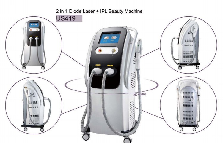 Beauty Machine 8080nm diode  Laser hair removal with advanced semiconductor cooler
