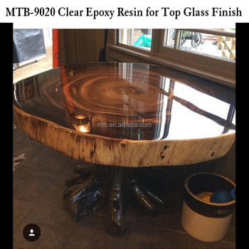 top glass epoxy resin for wood table and furnitures buy good transparency epoxy resin coating. Black Bedroom Furniture Sets. Home Design Ideas