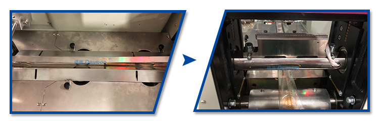 Automatische Lolly Met Stok Loaf Suiker Snoep Verpakkingsmachine
