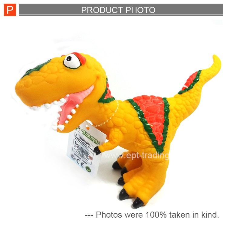 Cute vinyl cartoon dinosaur world toys