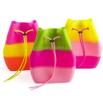 Cutest candy bag kids school bags backpack jelly candy bag
