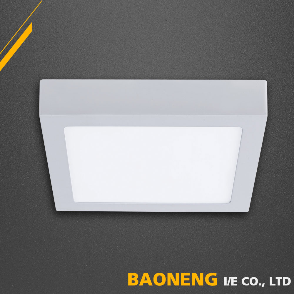 Hotel Corridor 18W Square Led Panel Light Surface Mounted