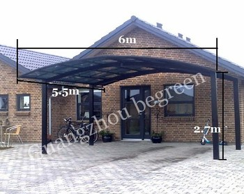 Outdoor Used Mental Double Carports For Sale Aluminum