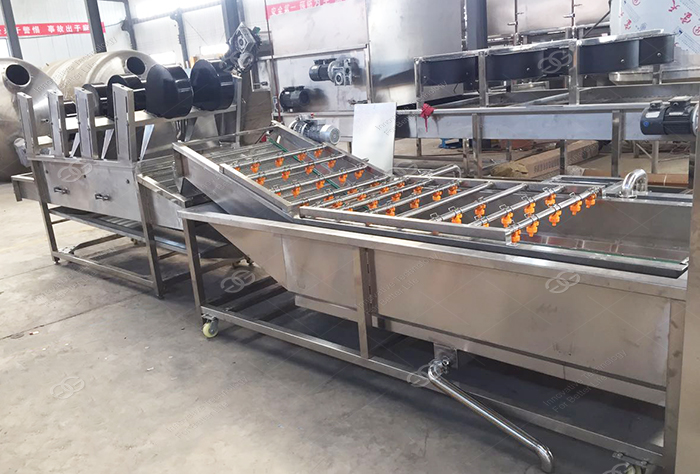 Industrial Automatic Palm Date Potato Cleaner Washer Apple Carrot Drying Production Line Fruit and Vegetable Washing Machine 3