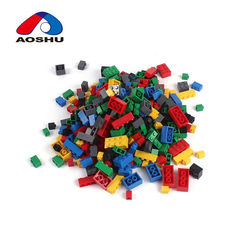 500PCS plastic ABS educational building blocks toys diy kit for <strong>kids</strong>