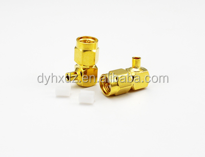 SMA male 9o degree right angle rf connector