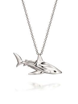Shark necklace buy celebrityjewelrydrama jewelry product on shark necklace aloadofball Images