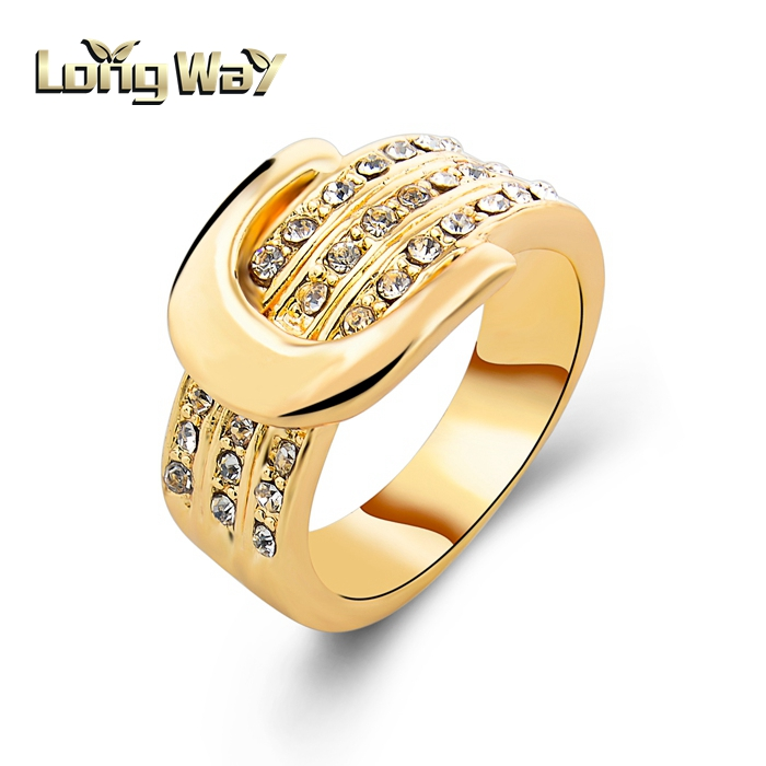 2015 Latest Fashion Belt Shape Ring With English Letter Design ...