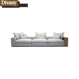 Reliable manufacturer nice selection modern leather fabric sofa