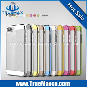 Hotsale TPU+PC case for iphone 7 plus, good quality TPU case for iphone 7 plus, for iphone 7 plus TPU case