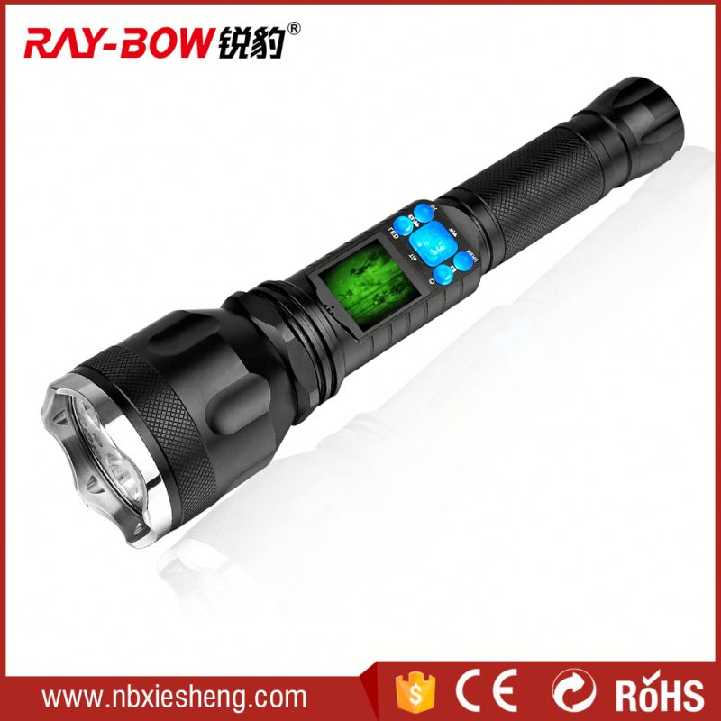 Middle switch flashlight outdoor lighting projector
