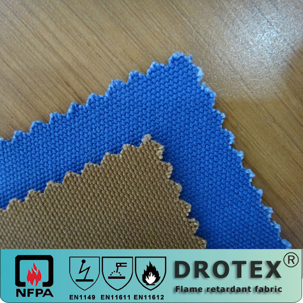 cotton anti flame finishing fabric for workwear