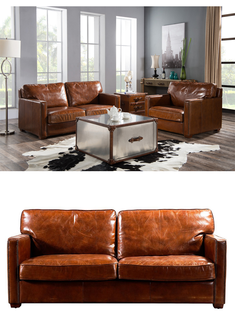 Pleasing Rh Style Living Room Leather Sofa Sets Vintage Leather Down Feather Filler Sectional Sofa Antique Home Furniture Buy Leather Sofa Sets Vintage Style Download Free Architecture Designs Scobabritishbridgeorg