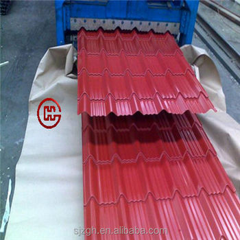 types of roof covering zinc aluminium corrugated zinc roof sheet - Roof Covering