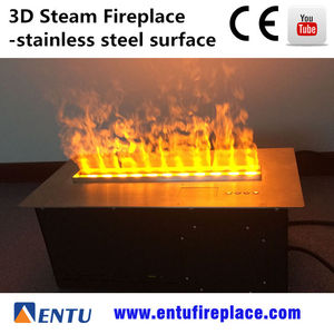 arts and crafts 360 degree 3D Water Electric Fireplace