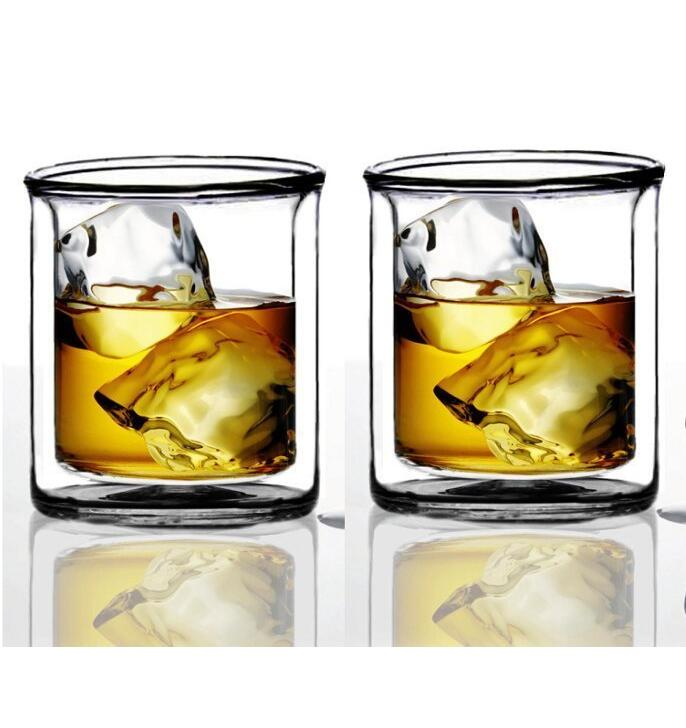 ODM / OEM 1000ml Handmade Mouth Blown Skull Head Vodka Whiskey Shot Glass Bottle Drinking Home Bar Decanter