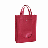 Customized Printed Recycled Folding Non Woven Tote Bag