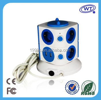 Intelligent Smartphone Remote Control Wifi Multi-outlet Usb Power ...