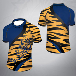 fc01499cde3 Rugby Training T Shirt Sublimation Polyester Rugby Jersey Custom ...