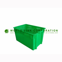 50kgs Heavy Duty Food Grade HDPE Vegetable Logistics Crate