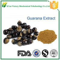 Pure natural guarana seed extract powder
