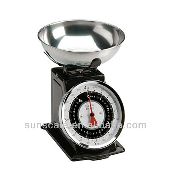Guangdong Factory Manufacturer Mechanical Spring Dial Kitchen Scale 3kg