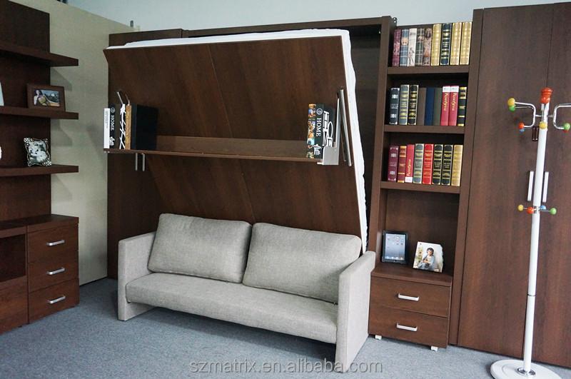 schrankbett faltwand bett platzsparend wandelbare bett. Black Bedroom Furniture Sets. Home Design Ideas