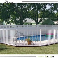 Popular High Quality Aluminium Pool Safety Fence Factory