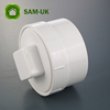 4 Inch PVC Waste Pipe Fittings Drain Plug for Toilet
