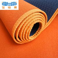 100% cotton fabric yoga mat rolls print yoga mat