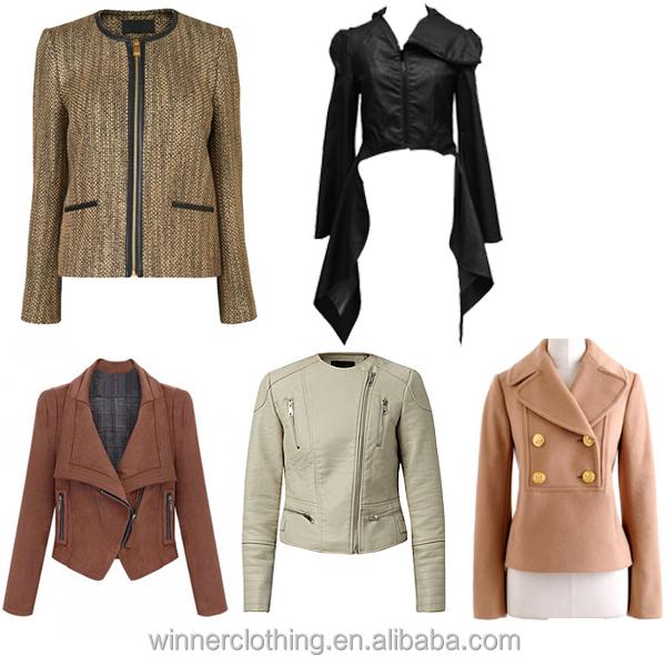 Ladies Fahsionable Autumn Winter Jacket Manufacturer Different ...