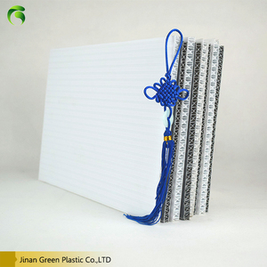 High Quality Factory 7mm 8mm 9mm 10mm pp hollow corrugated plastic sheet