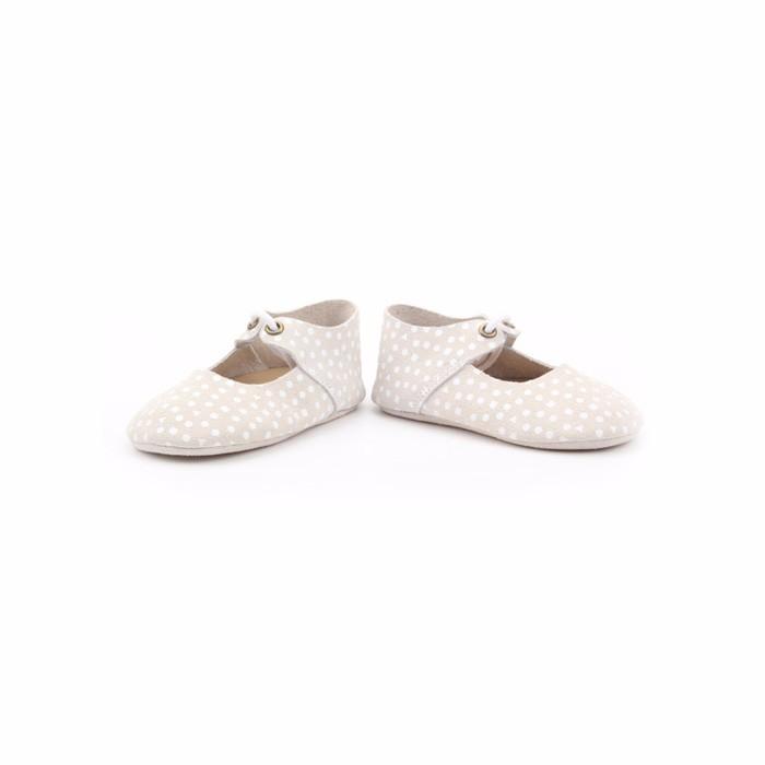 2017 Moda Encaje Hasta Mary Jane Planos De Cuero Bebé Zapatos De ...
