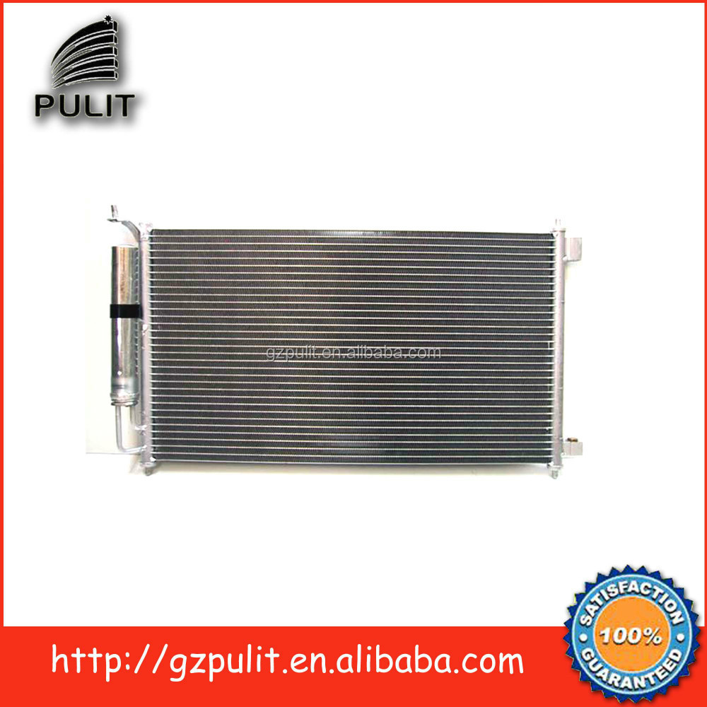 Auto air conditioning condenser and auto ac condenser for 2004Nissan Tiida auto condenser 92100-ED000