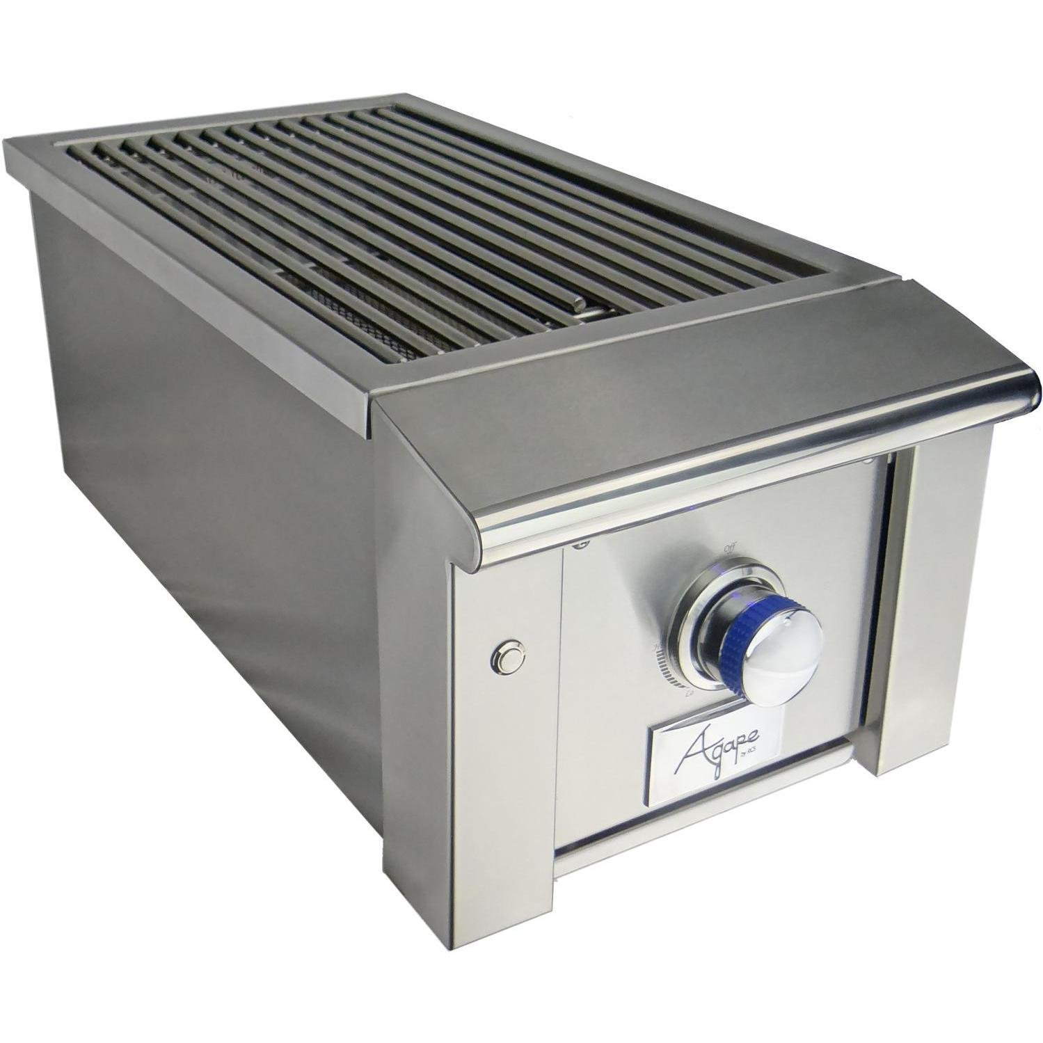 Rcs Agape Series Built-in Infrared Side Burner - Propane - Asb2