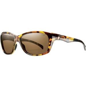 603cf00037 Smith Optics Spree Premium Lifestyle Polarized Outdoor Sunglasses -  Tortoise Brown   Size 58-