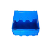 good quality cheap small plastic collapsible crate with cap