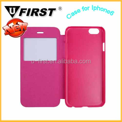 for Iphone 6 book style leather mobile phone case,for iphone4g mobile phone case