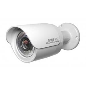 "Buybuycctv 1.3Mega Pixel IR Mini Bullet IP Camera, 1/3"" 1.3 Maga Pixel Aptina CMOS image sensor, H.264, MJPEG video compression and JPEG image capture, Max 25/30fps@720P (1280*720), 15fps@1.3M(1280*960) resolution, Dual Encoding Stream, 6mm Lens (3.6mm/8mm optional), TRUE Day/Night ICR, IP66"