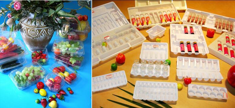 Imballaggio per alimenti forniture usa e getta a microonde sicuro da asporto in plastica nero contenitore di alimento