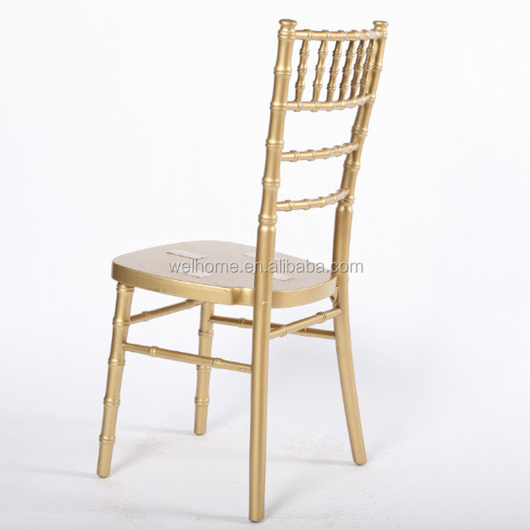 fast delivery locust tree wood gold color tiffany chair