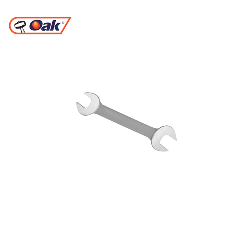 cheap stainless steel spud double ended spanners