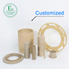 Plastic manufacturers cheap injection molding HPV PPS spare parts natural plastic PPS sheet