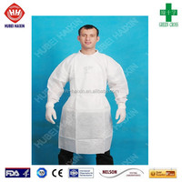 cheap disposable white lab coat for children