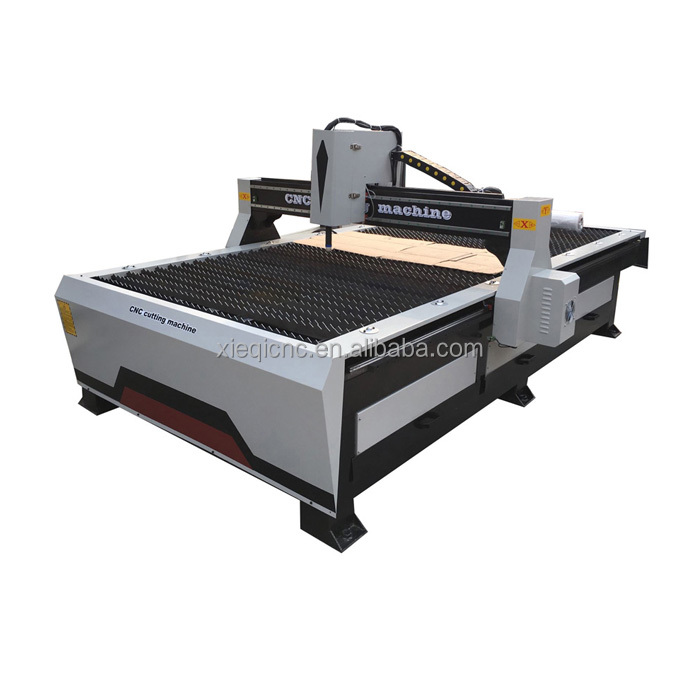 1325/1530/2030 table type cnc plasma cutting machine with under water cutting plasma and flame cutting